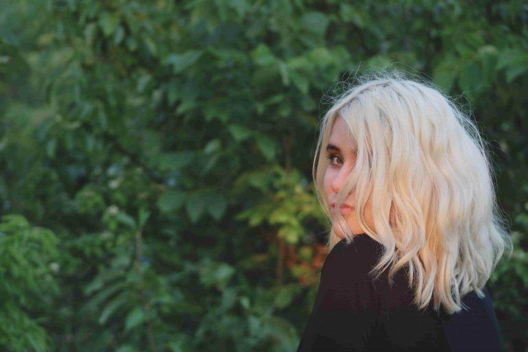 woman blonde hair