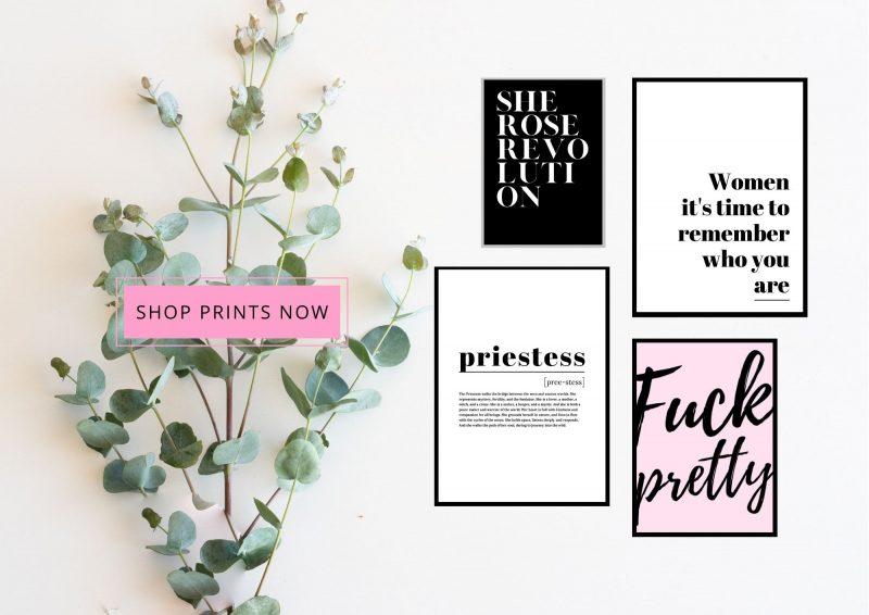 digital prints she rose revolution