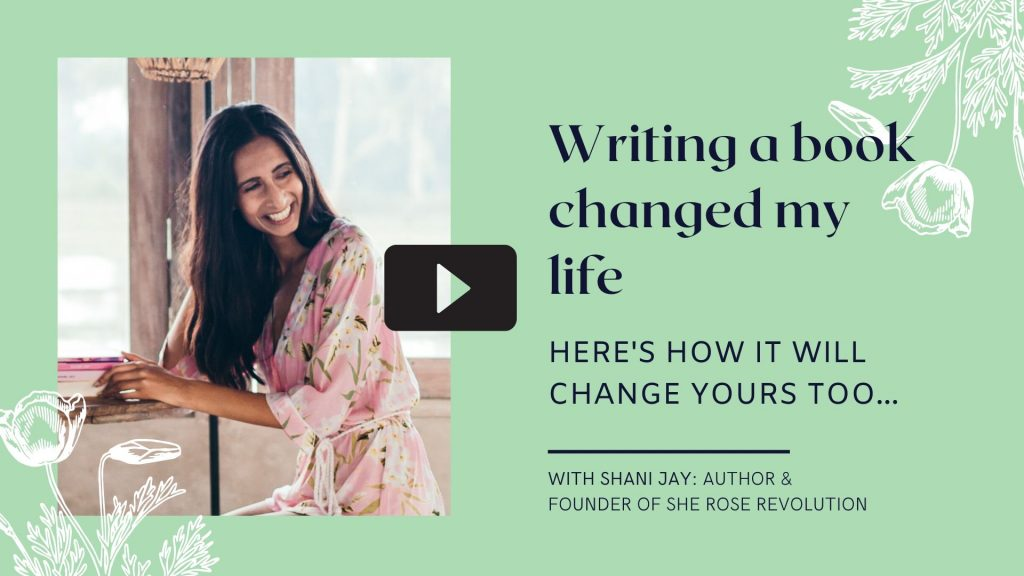 writing a book changed my life