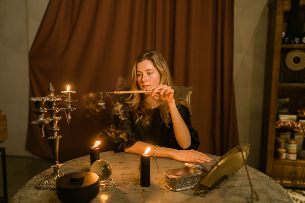 how to set up a spiritual altar