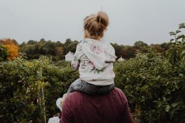 growing up without a father