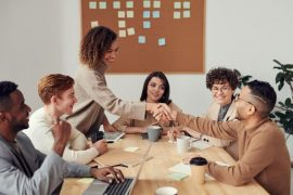women support each other at work